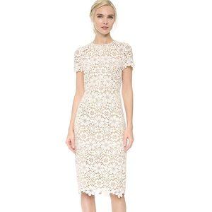 BNWT SHOSHANNA WHITE BEAUX LACE DRESS FIT & FLARE